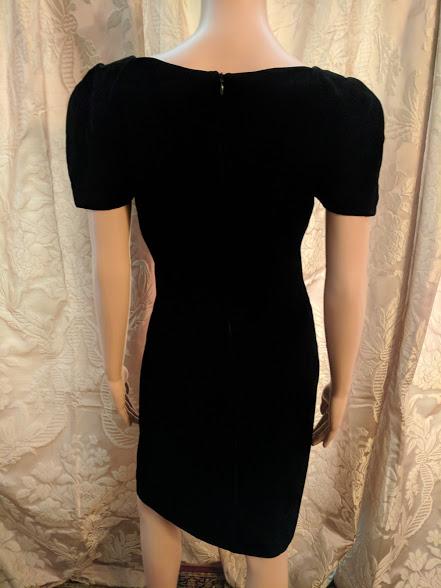 768b09b0b12 26039 B3 LBD Vintage Classic Little Black Dress By Nipon Boutique Size 6