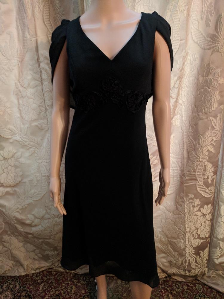 29005 B3 Lbd Beautiful Anything But Basic Black Dress By Patra Size